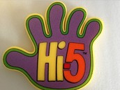 Attractive and Colorful foam hand at Affordable rate