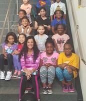 Ms. Monroy's Girls on the Run Group