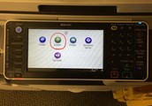 Select SCANNER on any of the school copy machines