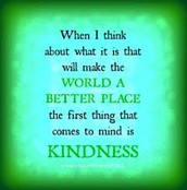 """West participarted in """"World Kindness Day"""" on November 13th"""