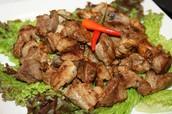 Garlic pork