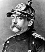 אוטו פון ביסמרק במדי צבא