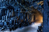 Named after a famous poem, Fingal's cave is well-known throughout its home Scotland.