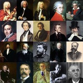 Some well known composers