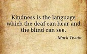 Next week's Virtue of the Week is Kindness.