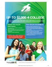 Earn up to $2,000 towards your college education