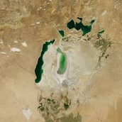 The North Aral Sea now