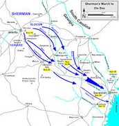 Sherman's march to sea
