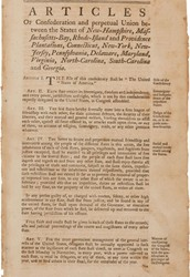 What Were the Articles of Confederation
