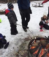 Campfire at Cleary Lake