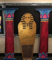 Sarcophagus and Pillars