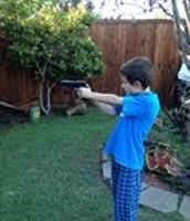 Shooting my gun