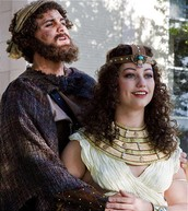 Helen and her husband Menelaus