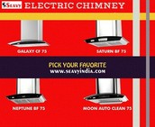 Luxury Design to Your Kitchen With Seavy Electric Chimney