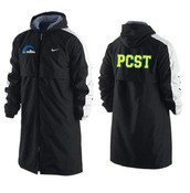 when your working hard at a meet, you need to stay warm, and what better way to do that then in our amzingly warm parka!
