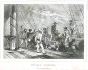 Slaves thrown overboard