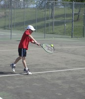 Baseline shots, back hands, volleys