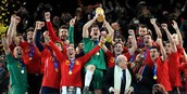 Spain win the 2010 World Cup against The Netherlands