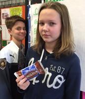 3rd hour - 8th Grade Classroom Pi Winner!