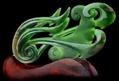Although the Shang were known for their bronze carvings, they also made great jade carvings
