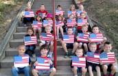 AM Kindergarten celebrates Constitution Day