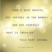 Continue to breathe deeply....