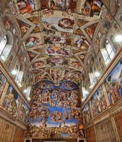 Michelangelo's ceiling painting