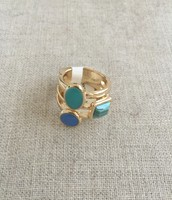 Stacked Stone Ring