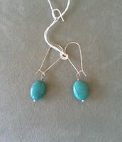 Turquoise Sea Drop Earrings $15 SOLD!!