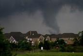 tornado in the neighborhood