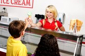 Ice cream Worker