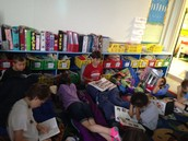 The Carpet was the Hot Spot to Read!