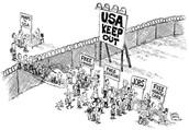 Economic Modern Era Cartoon
