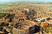 Overlook of Rome