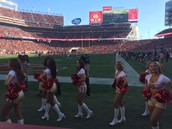Front Row Seats on the 49ers' Side