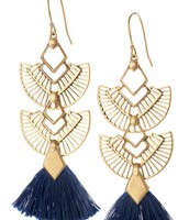 Aida Tassel Earrings- $49 Now $25