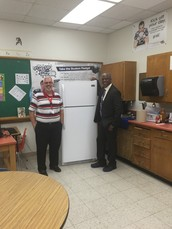 Argos donates much needed items to Edison Middle Learning Center!