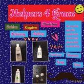 1st Grade Service Project - Grace Charities