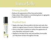 A Few Ways to Use Immortelle