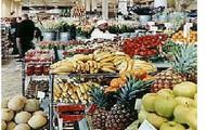 Frutas y productos frescos