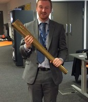 Mr Duggan dreaming of being an Olympian!