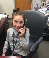 What a busy day, Principal Boland making a few phone calls!