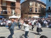 Público bailando