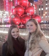Mi mejor amiga y yo en New York City.