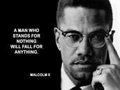 Malcolm X's failures and his leadership qualties
