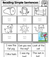 Reading Simple Sentences