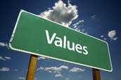 les bons valeurs