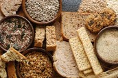bread/rice/oats (complex carbohydrates)