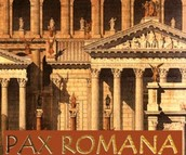 Architecture of the Pax Romana labeled