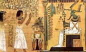 Egyptians Worshiping Pharaoh